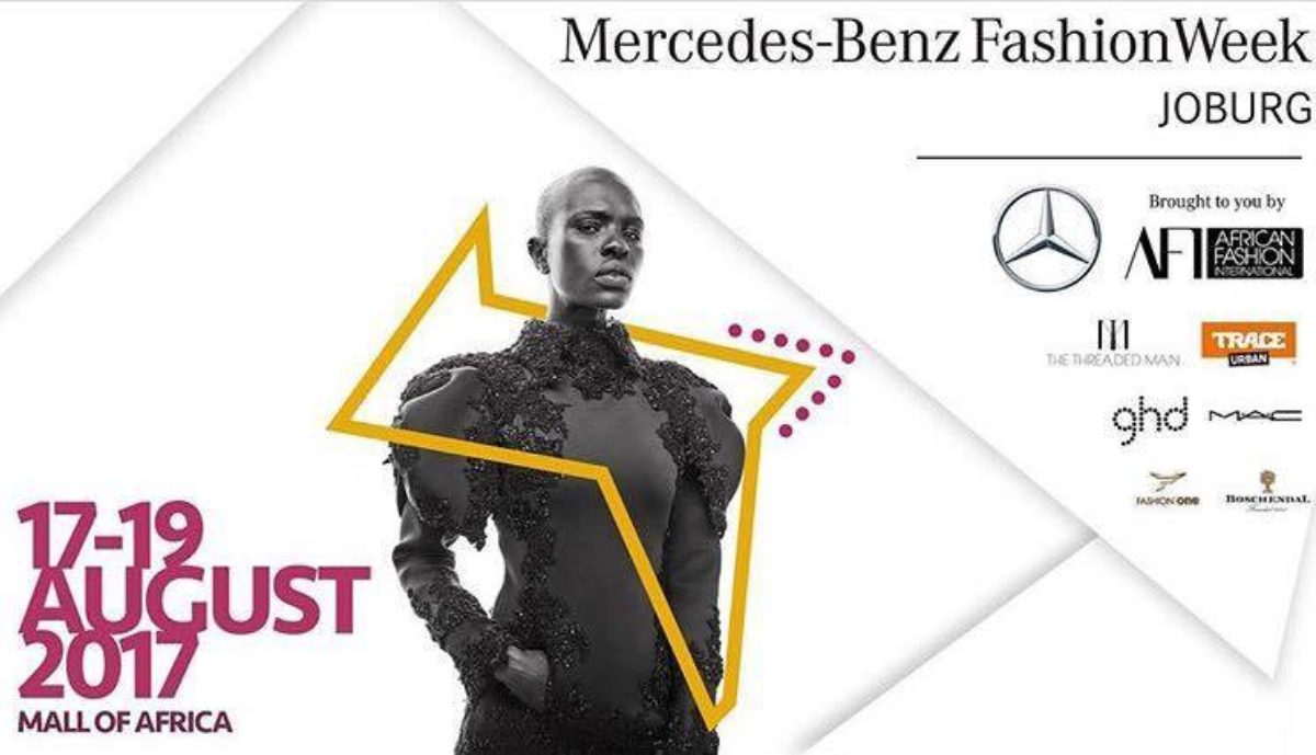 It's the  Mercedes-Benz Fashion Week!