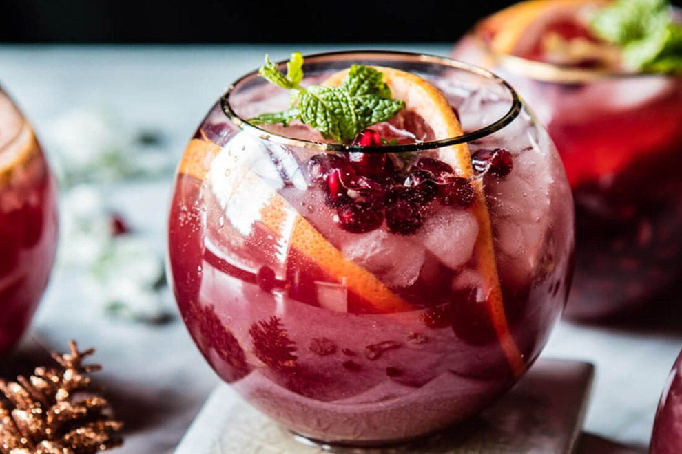Delicious Autumn Cocktail
